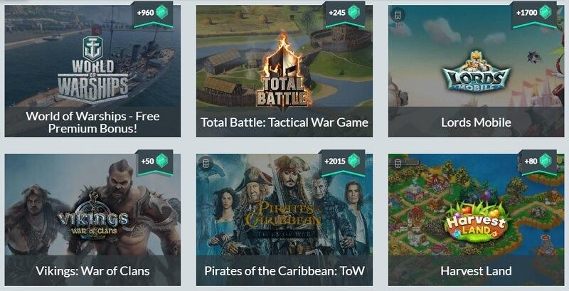 Gamehag.com задания